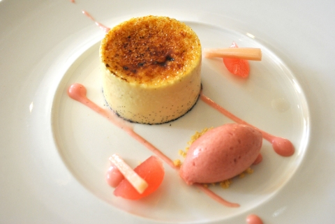 Michelin creme brulee