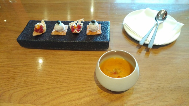 Gidleigh Canapes