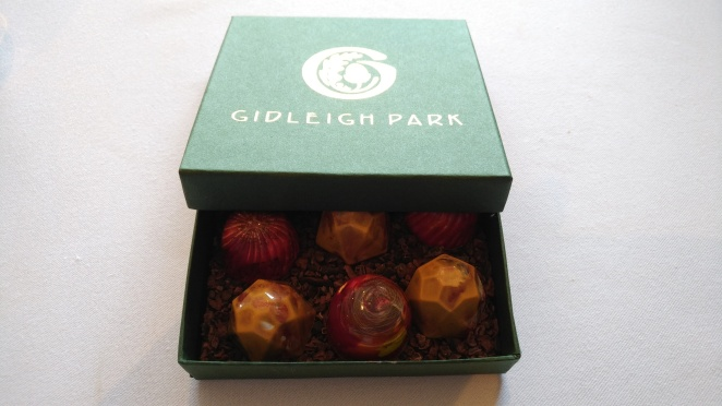 Gidleigh petit fours