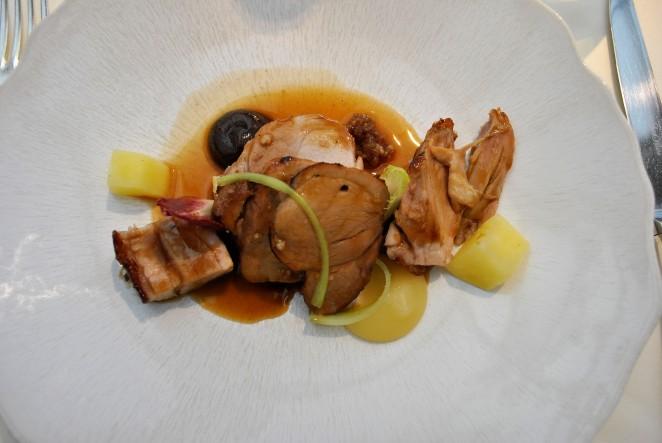 Piglet main course