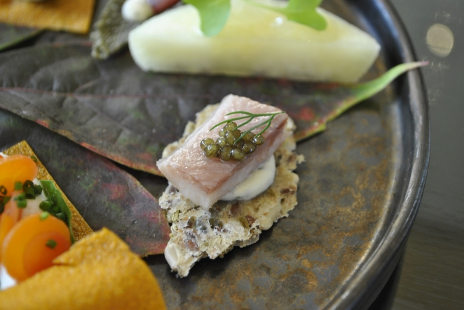 Smoked Eel with caviar