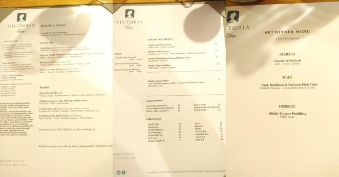 vic menus