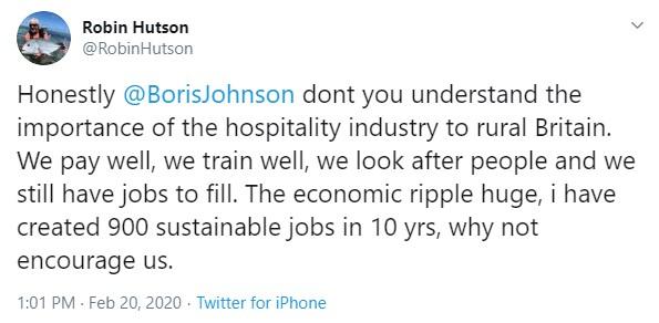 Twitter Robin Hutson